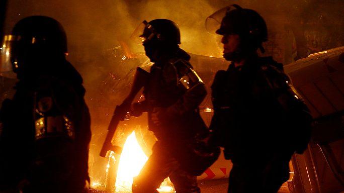 Tumulto no Brasil em protestos contra Proposta de Emenda Constitucional