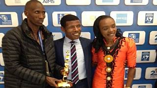 Ethiopian athletics great, Gebrselassie, receives lifetime achievement award
