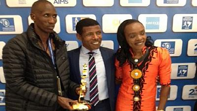 Ethiopian athletics great, Gebrselassie, receives lifetime achievement award