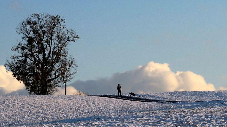 Skisaison eröffnet: 70 cm Schnee - und viel Sonne