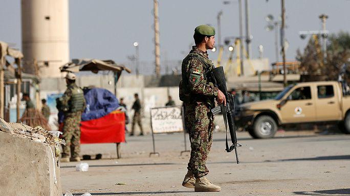 Amerikai légibázisra támadtak Afganisztánban
