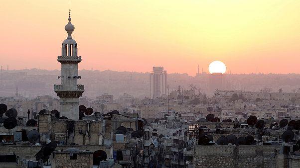 Syrien - schwere Kämpfe an allen Fronten