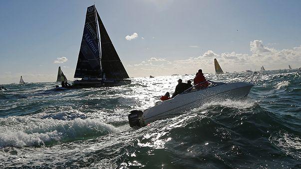 Three-way battle for Vendee Globe lead