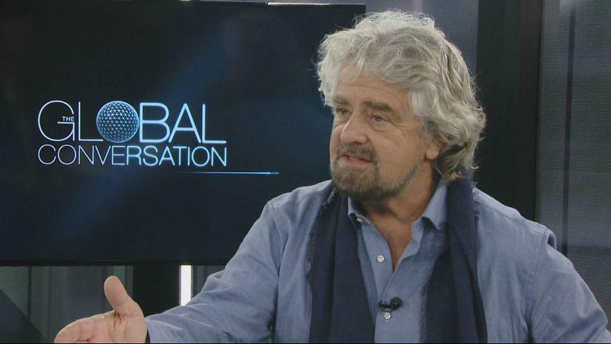 Italie : Beppe Grillo attaque le Vatican sur Euronews puis se rétracte