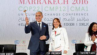 COP22 à Marrakech : Ségolène Royal passe le flambeau à Salaheddine Mezouar