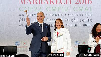 COP 22 in Marrakech: France passes on torch to Morocco