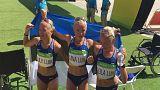 Μαραθώνιος: Οι τρίδυμες από την Εσθονία τρέχουν και εντυπωσιάζουν