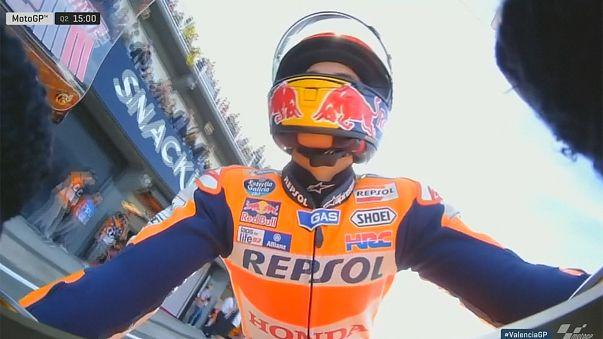 Moto GP - Lorenzo rajtol élről Valenciában