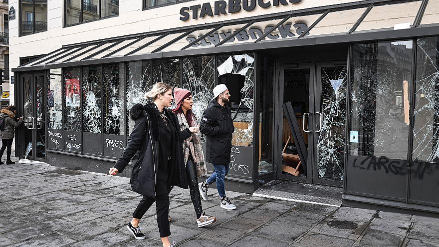 Image: France protest