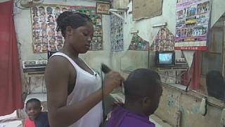 Gabon: Meet Libreville's hairdressing family