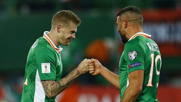 صدرنشینی ایرلند، اسپانیا و ایتالیا در مقدماتی جام جهانی روسیه