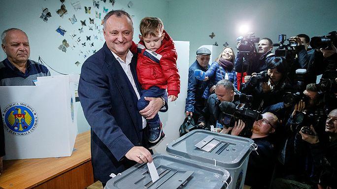 Europa y Rusia siguen atentamente la segunda vuelta de las presidenciales en Moldavia