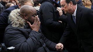 رونمایی از تابلوی یادبود یکی از قربانیان حملات پاریس
