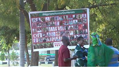 L'ONG Bring Back Our Girls rend hommage aux soldats nigérians