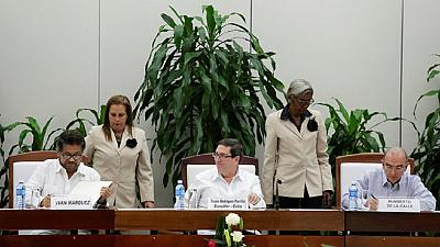Colombian government and FARC announce new peace deal