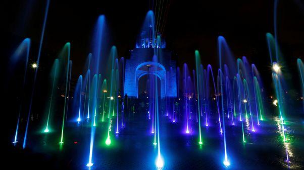 جشن نور در مکزیکوسیتی