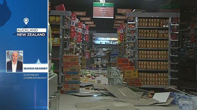Землетрясение в Новой Зеландии: euronews с места событий