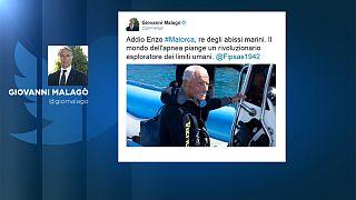 Le plongeur Enzo Maiorca s'éteint