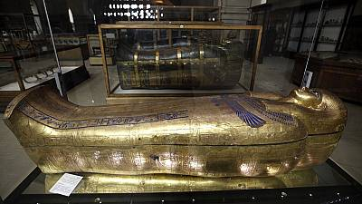 Undamaged mummy discovered near Luxor in Egypt