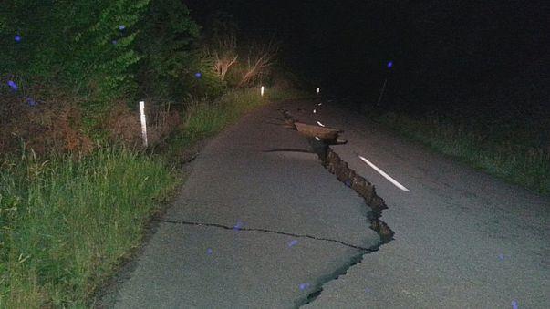 Sismo de 7,8 faz dois mortos na Nova Zelândia