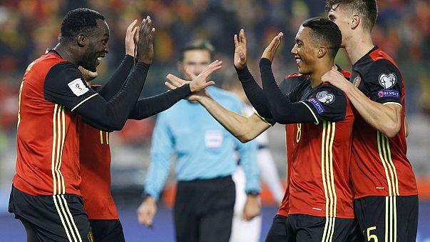 Dünya Kupası elemeleri: Belçika ve İsviçre 4'te 4 yaptı