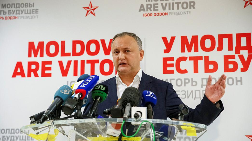 Moldavie : le prorusse Igor Dodon remporte la présidentielle