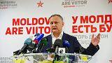 Moldova'nın yeni Cumhurbaşkanı Rusya yanlısı Igor Dodon