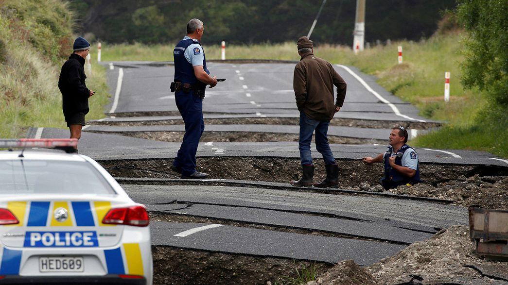 Nouvelle-Zélande : au moins deux morts et beaucoup de dégâts après le séisme