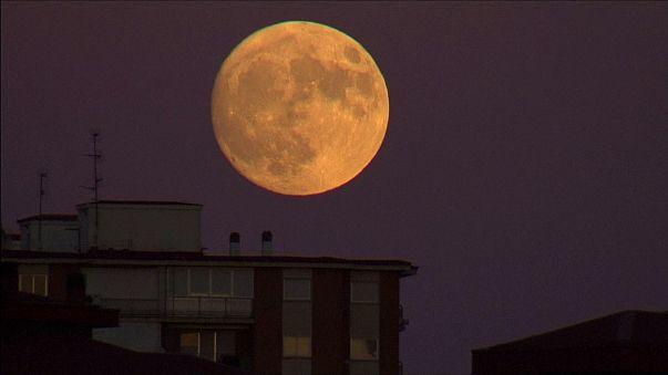La notte della Superluna. Il corpo celeste come non l'avete mai visto