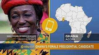 Présidentielle au Ghana : une femme candidate