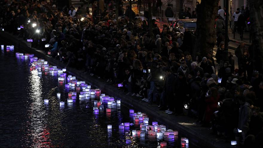 Victims of Paris terror attacks remembered