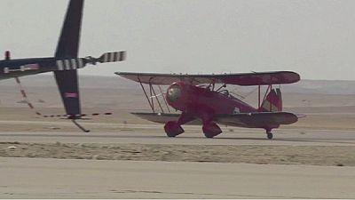 Rallye d'avions «vintages» en Egypte