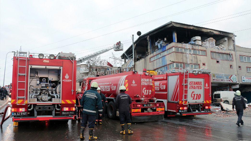 إصابات جراء انفجار في مصنع بإسطنبول