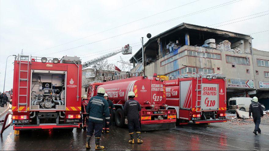 Взрыв в Стамбуле: по меньшей мере 10 раненых