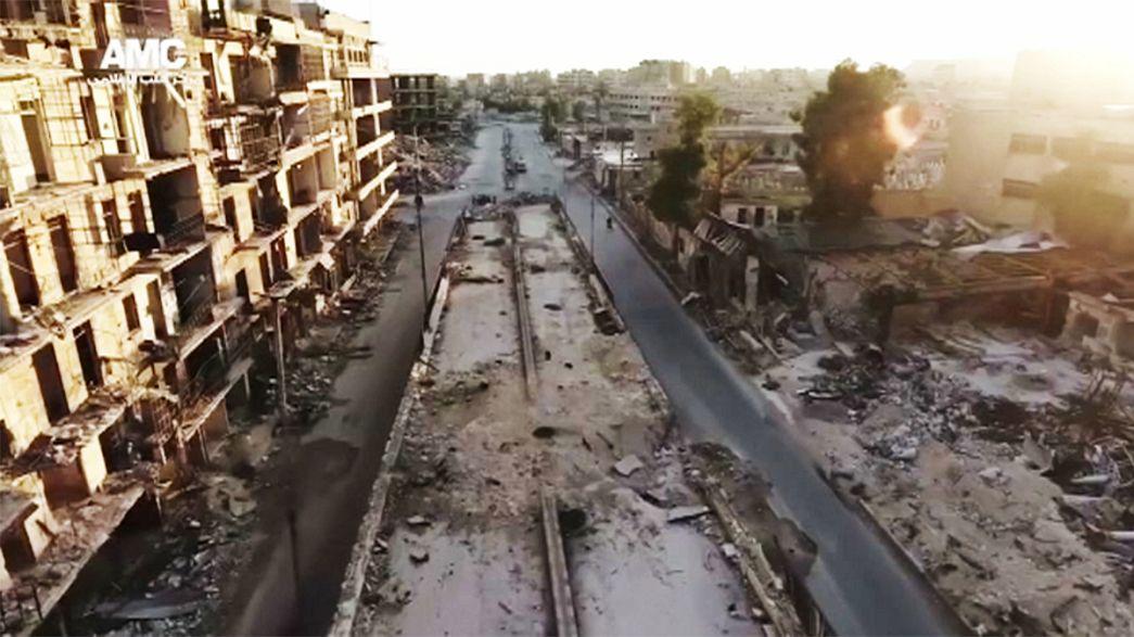 Moscú culpa a los rebeldes de un ataque con armas químicas en Alepo