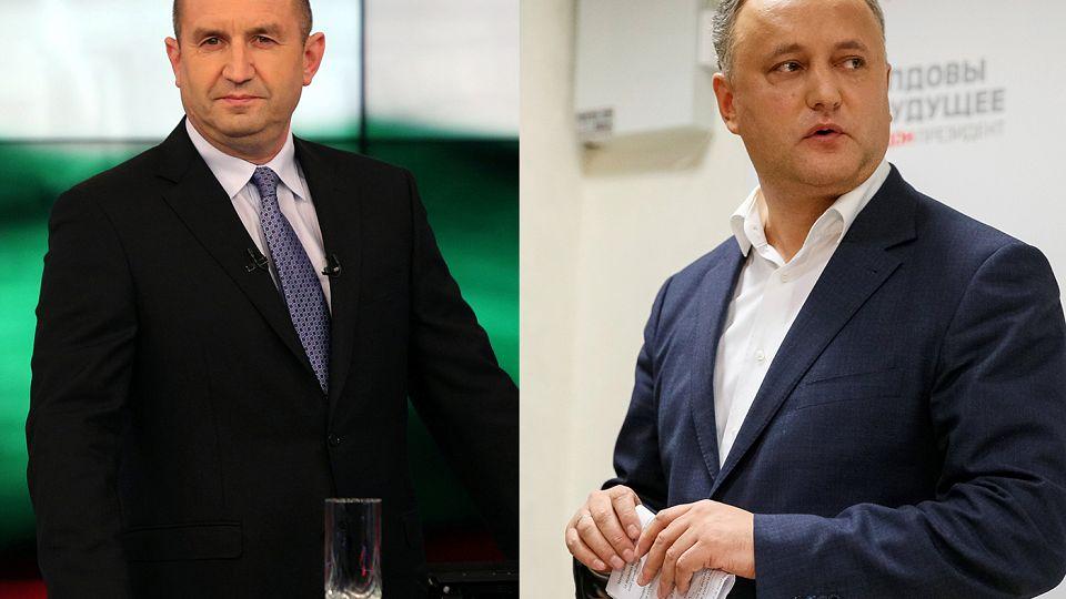Bulgária e Moldávia elegem presidentes pró-Rússia