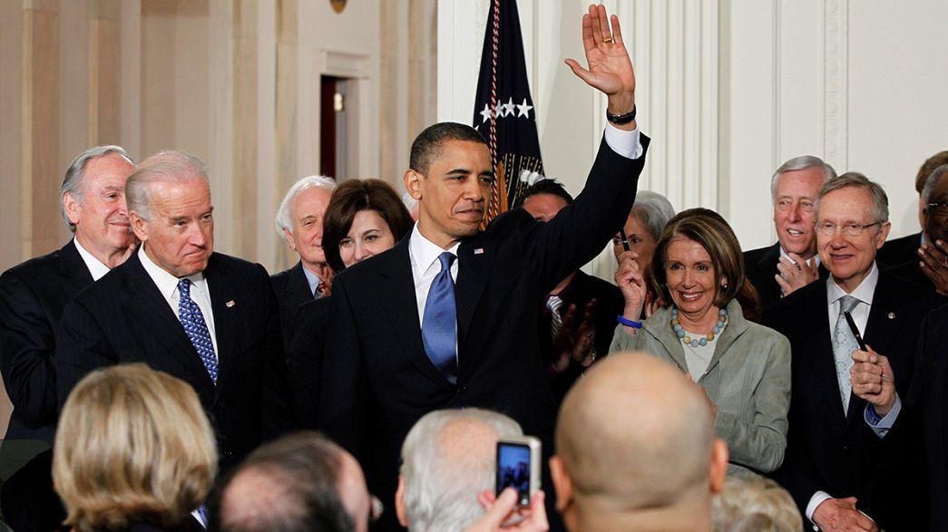 Dernière visite du président Obama en Europe