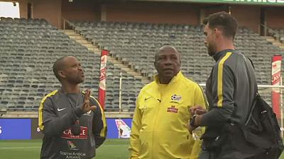 Bafana Bafana coach suspended after altercation with SAFA chief