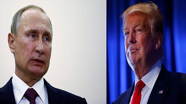 گفتگوی تلفنی ولادیمیر پوتین و دونالد ترامپ