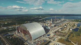 Chernobyl's new shelter moves slowly into place