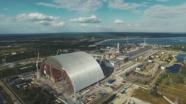 Chernobyl's new shelter moves slowly into place