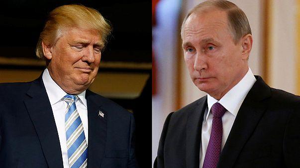 Путин и Трамп наконец поговорили по телефону