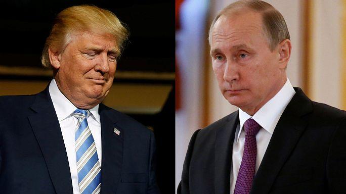 """Erstes Telefonat: Putin und Trump vereinbaren """"konstruktive Zusammenarbeit"""""""
