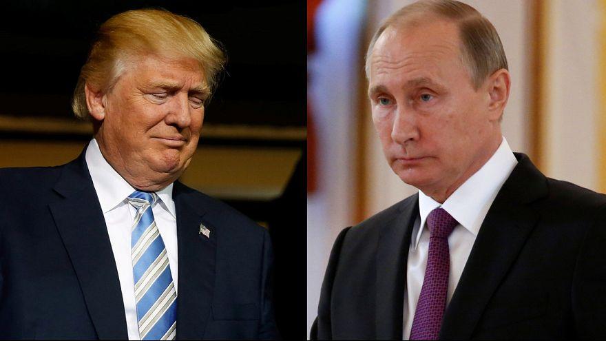 اتفاق بين بوتين وترامب على ضرورة العمل من أجل تطبيع العلاقات