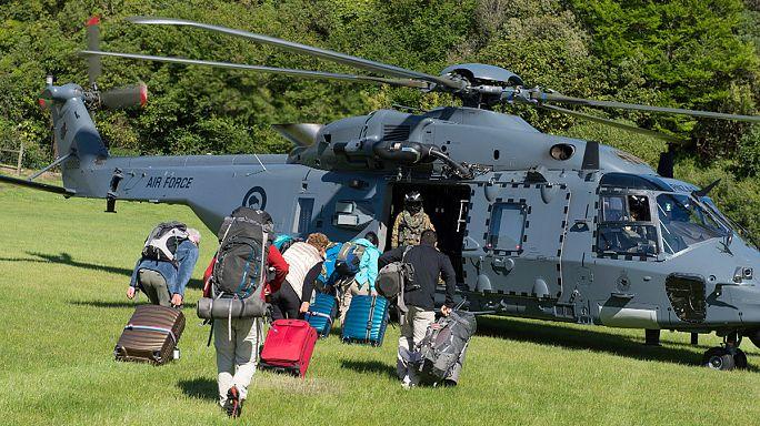 Turistas começam a ser retirados do sul da Nova Zelândia