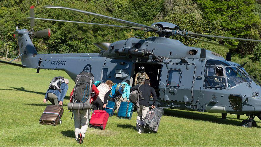 Több száz embert kell kimenekíteni a katasztrófa sújtotta területről Új-Zélandon