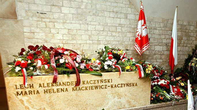 Poland exhumes late president Kaczynski's remains