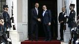 Barack Obama in Athens with the focus on Greek debt relief