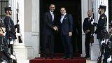 أوباما في أثينا..المحطة الأولى في آخر زيارة له إلى أوروبا