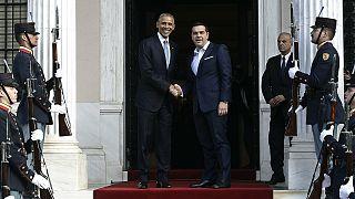 Ομπάμα στην Αθήνα: «Δεν υπάρχει ανάπτυξη χωρίς ελάφρυνση του χρέους»